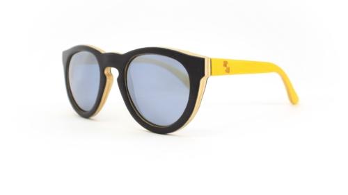 Yukon Black & Double Yellow (Black Mirror)