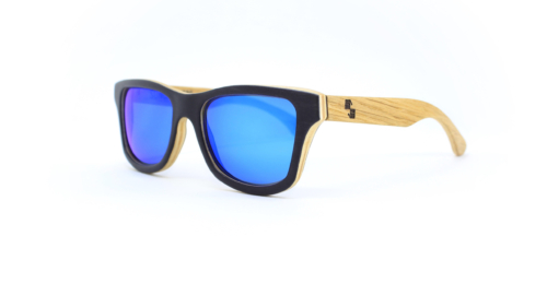 Florida Black & Oak (Blue Mirror)
